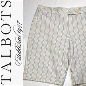 TALBOTS Stretch Shorts Size 10